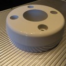 Marine Machine Billet Alum Dash Mount Spacer  White Powder Coated