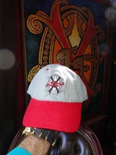 Arturo Fuente Fuente Red & Grey OpusX Baseball Cap
