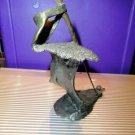 "mark hopkins bronze sculpture golf series  "" Bunker ""  in the original  box"