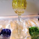 Faberge Xenia Yellow Goblet  Glass  new without the box