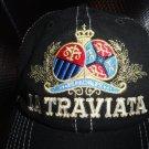 CAO LA TRAVIATA BLACK  CIGAR LOGO  CAP NEW