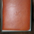 pheasant by R.D.Gomez made in Spain Brown  Leather Case