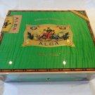 Elie Bleu Flor de Alba  Pistachio Green Humidor 75 Ct new  without the box