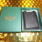 pheasant by R.D.Gomez made in Spain Black  Leather  Case  & cigar cutter
