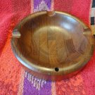 """Dunhill British Crown Colony large wood ashtray without box 8"""" diameter"""