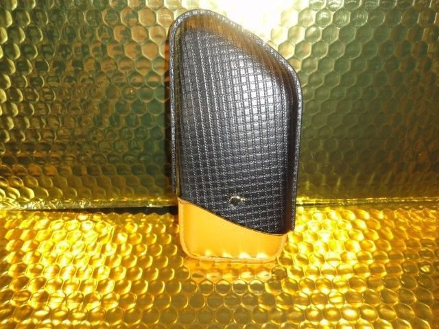 Cohiba Black & Yellow Leather Carrying Case