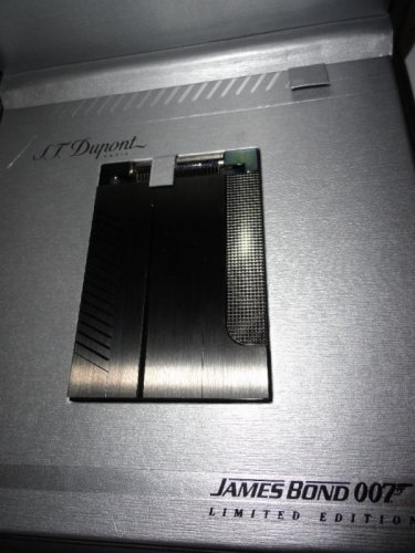 s.t.dupont James Bond 007-PVD Gunmetal Table Lighter
