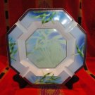 Versace by Rosenthal Jungle Pattern  Ashtray 9 inches wide New Porcelain
