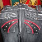 """Rebel Spirit Jeans """" Set your Rebel Spirit Free""""  32"""" W  32"""" L  new with tags"""