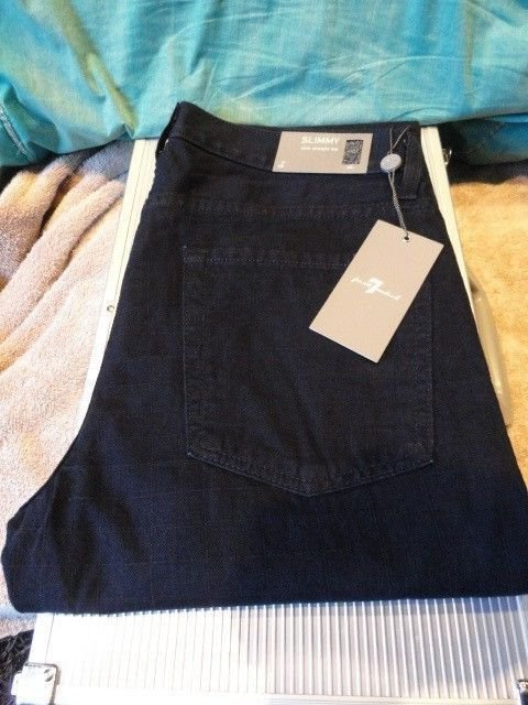 """7 for all Mankind Mens Casual Designer Jeans  SIZE 31"""" Waist"""