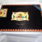 Elie Bleu Flor de Alba Black Humidor  110 Count NIB
