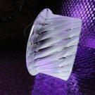 Lalique France Crystal Smyrne Ashtray