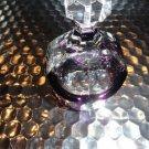 Faberge Lausanne Purple Liqueur Glass without the original box