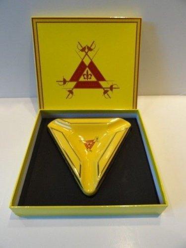 Montecristo Ceramic Cigar Ashtray new in the presentation  box