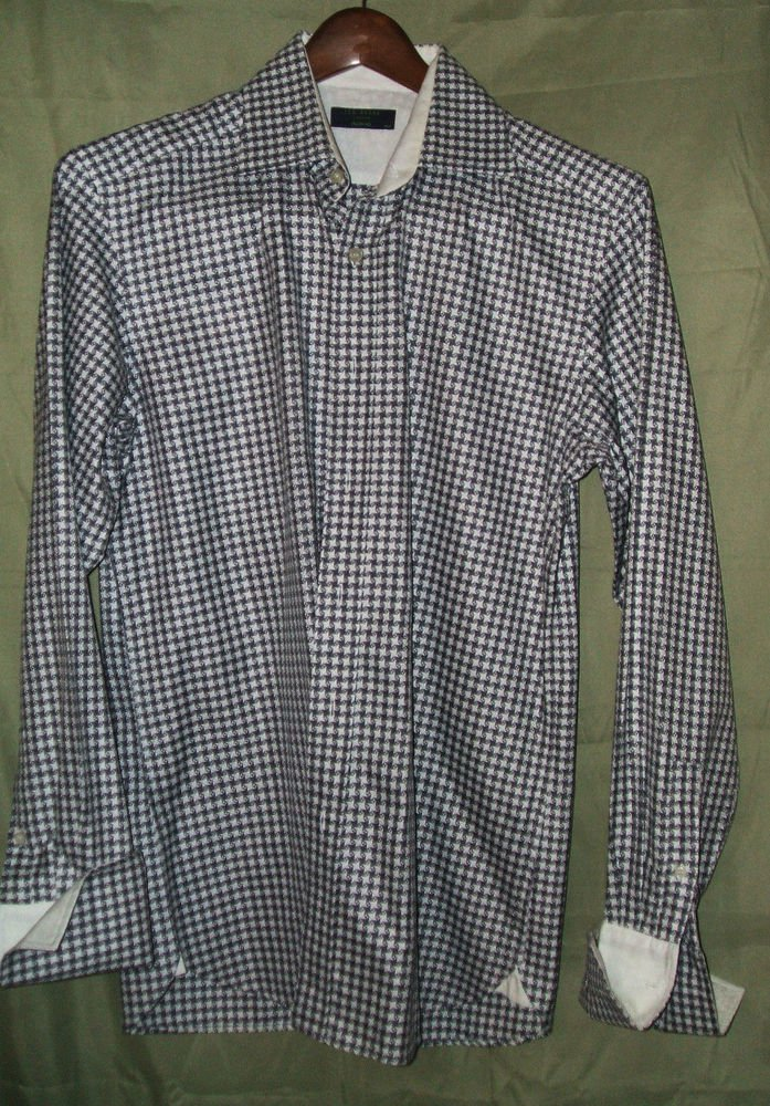 Ted Baker London Archive mens casual dress shirt 15.5