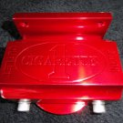 Marine Machine fuel filter assembly in Red  powder coat  NIB