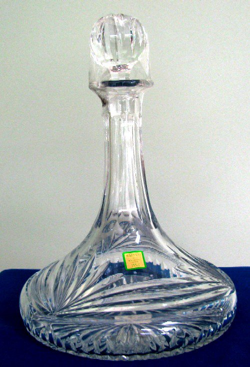Waterford Heavy Cut Crystal Marquis Ships Decanter new in the box