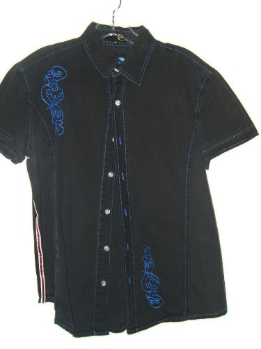 Just Cavalli mens casual designer shirt