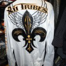 XII Tribes Designer Causal Shirt Embroidered in good condition
