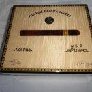 Elie Bleu Medals Natural Sycamore  Humidor 50  Count new in original box