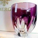 Faberge Lausanne Purple Vodka Shot Glass without  the box