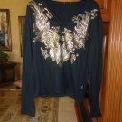 Just Cavalli Mens Designer Long sleeved shirt pre-owned size: large