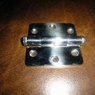 """stainless steel deck hinge 3"""" x 3"""" polished 316 L new"""