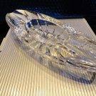 diamond crown Windsor crystal collection ashtray NIB