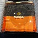 cohiba humidor comes with locking lid and key plus crystal ashtray