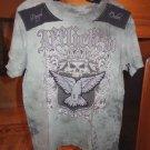 Affliction Designer T-Shirt Size: medium