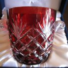 Faberge Odessa Ruby Red  Ice Bucket
