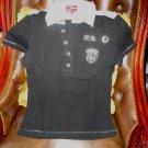 Engrgie Mens Designer Polo Shirt Black Medium preowned