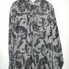 Arnold Zimberg mens large casual designer dress shirt