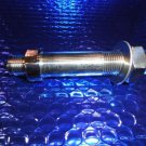 "Thru Hull Fitting 316L Stainless Steel  3/8"" Flare x-1/4"" NPT x 3 1/4 "" L"