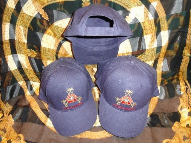 Montecristo Blue Embroided Baseball Cap