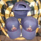 Montecristo Blue Embroided Baseball Cap