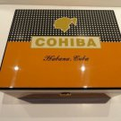 "cohiba humidor and cohiba 10"" ceramic ashtray new in the box"