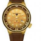 Swiss Legend Men's Neptune Gold & Brown Watch