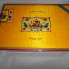 Elie Bleu Flor de Alba  Gold Yellow  Humidor 110 Count NIB Made in France