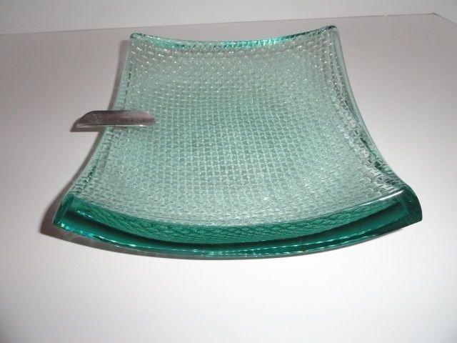 Stephen Schlanser Studio Art Glass Ashtray