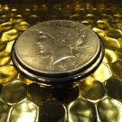 money clip with Liberty  Silver Dollar 1923