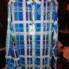 Robert graham seattle blue shirt Medium