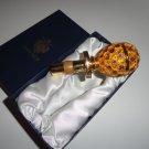 Faberge  Gold Coronation  Bottle Stopper
