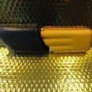 Cohiba Black & Gold Leather  Case