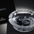 Versace Arabesque Crystal Ashtray in the original box with tags