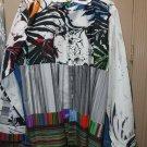 Robert Graham Passion Flower Classic Fit Print Sport Shirt - Size LT  NWT $298