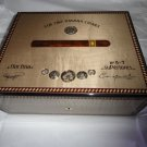 Elie Bleu Medals Grey Sycamore Humidor 75 Count new in original box