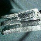 heavy duty glass cigar ashtray