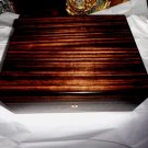 Elie Bleu Macassar Ebony Wood Humidor - Classic Collection-  75 count