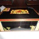 Elie Bleu Flor de Alba Black Humidor 75 Ct new in the original box